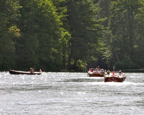 Boating at Lake Toxaway