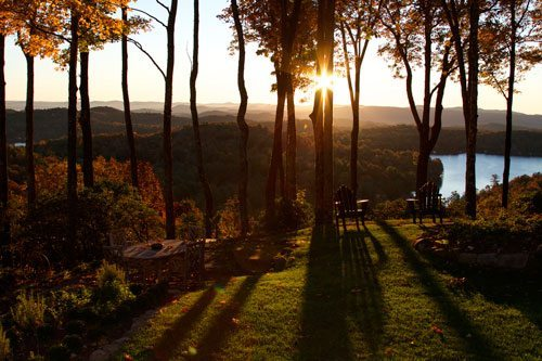 Sunset at Lake Toxaway